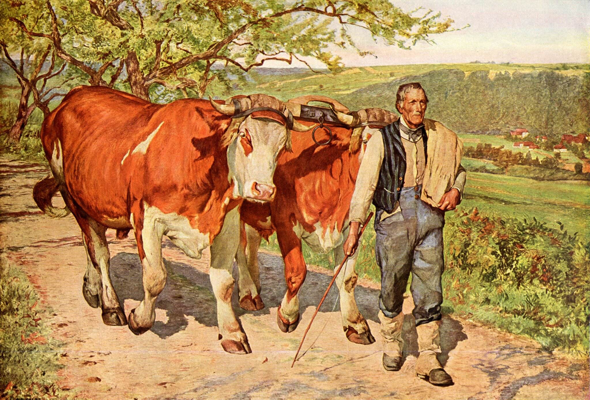 Eugene Burnand - Der Landmann