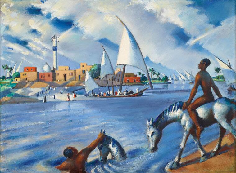 tableau de Mahmoid Saïd